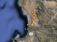 Informe sobre la sismicidad en la región de Coquimbo