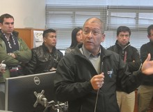 Operadores de los sistemas de alerta de tsunamis visitan el CSN