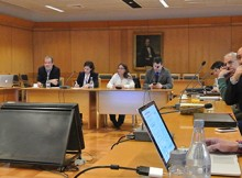 3ra sesión del Comité Científico Técnico de Onemi incluyó presentación y recorrido por el CSN
