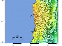 Shake Map Terremoto de Illapel