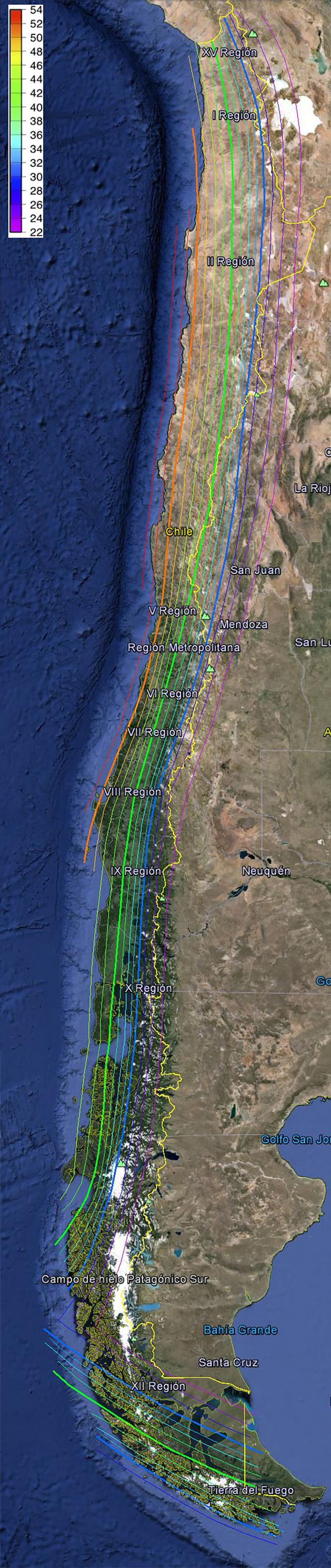 Mapa Peligro Sismico
