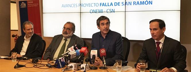 AUTORIDADES PRESENTAN PRIMER AVANCE DEL ESTUDIO DE LA FALLA DE SAN RAMÓN