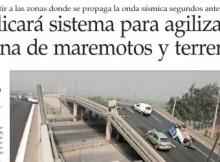 DISEÑAN SOFTWARE DE ALERTA TEMPRANA PARA GRANDES TERREMOTOS